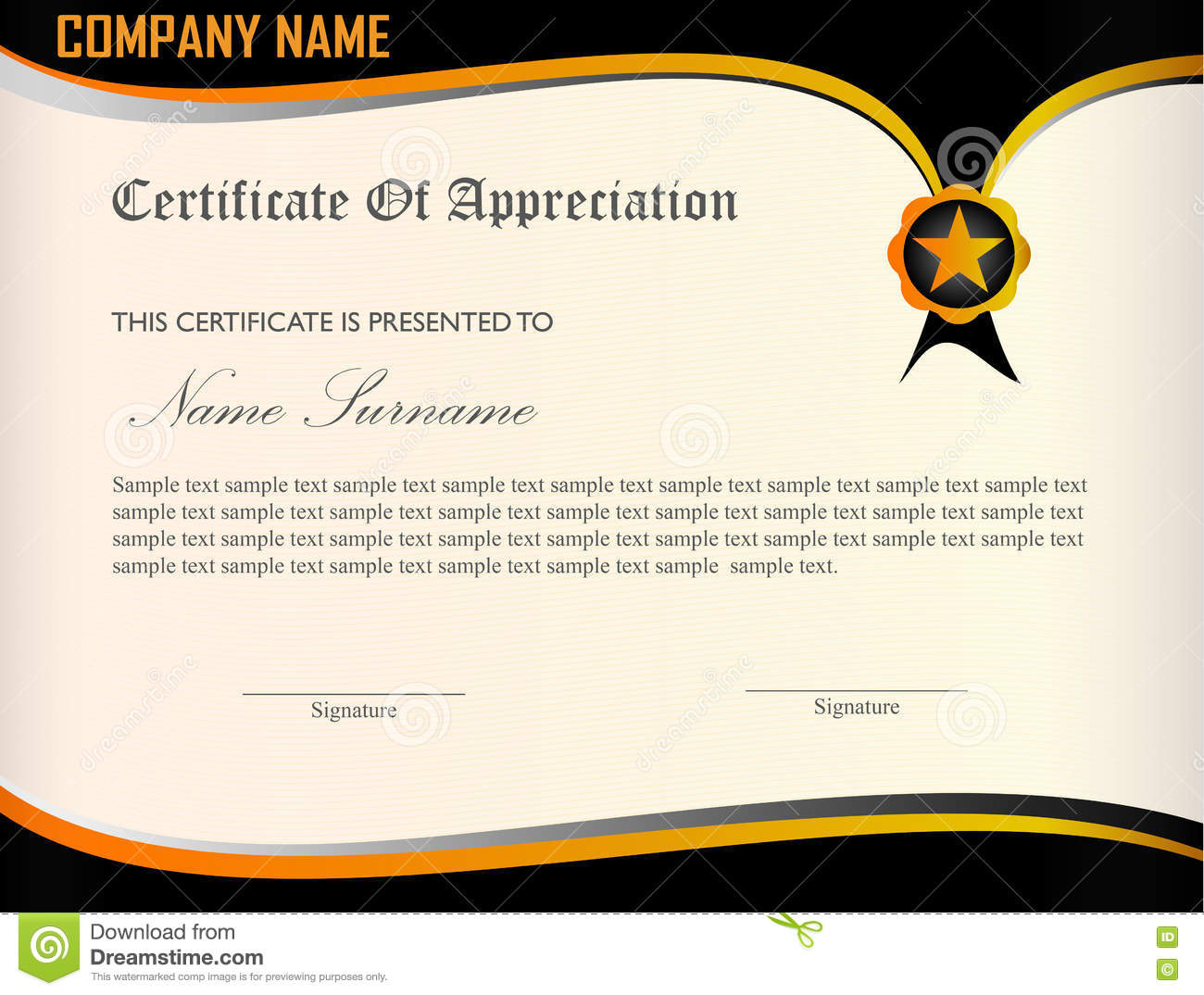 Examples of certificates of appreciation wording delivery document sample certificate of appreciation certificate appreciation template premium modern design 74767909 sample certificate of appreciationhtml yadclub Gallery