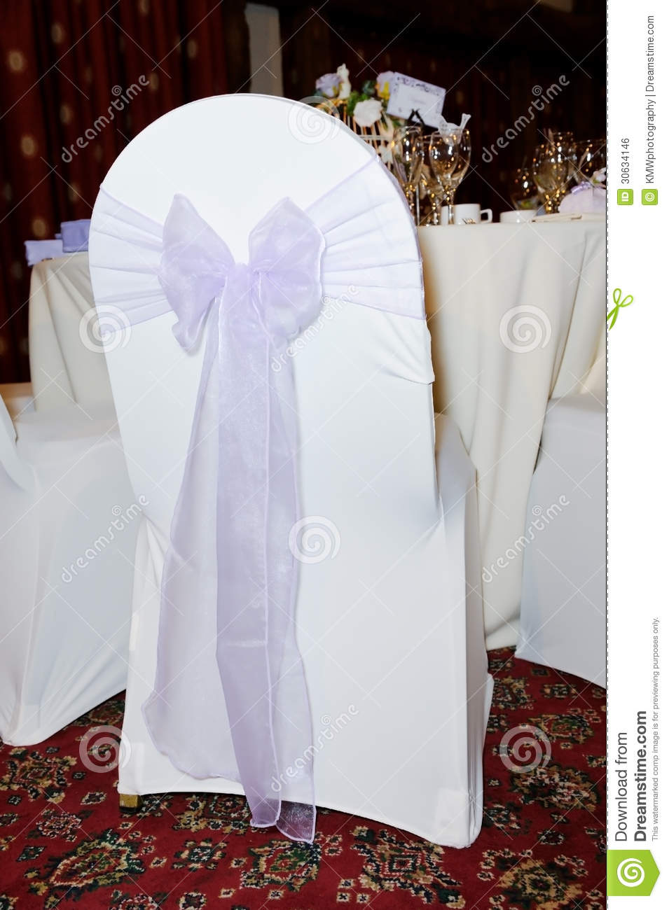 wedding chair covers lilac rattan armchair cover at reception stock photo image of linen