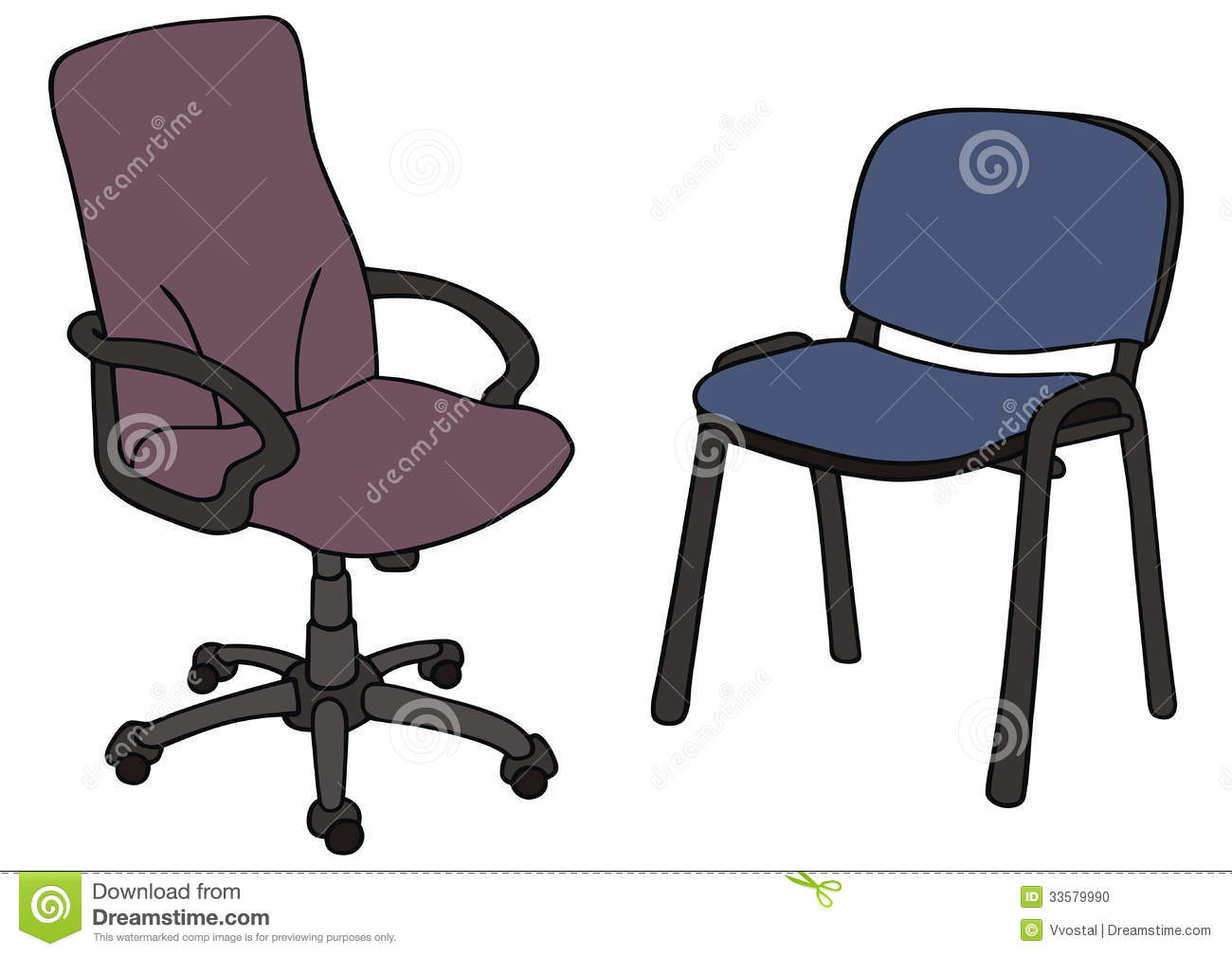 office chair dwg ergonomic no arms stock photo image 33579990