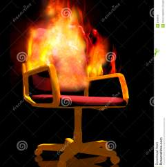 Wheelchair On Fire Soccer Chair Stock Photography Image 3167912