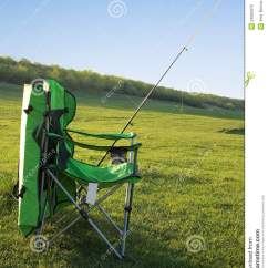 Fishing Rod Chair Www Office Chairs Fisherman And A Royalty Free Stock