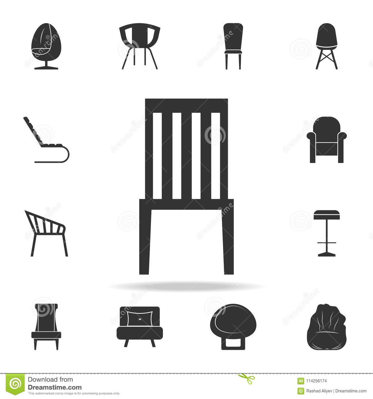 chair design icons stackable chairs for less icon detailed set of furniture premium quality graphic one the collection websites web mobile app on white