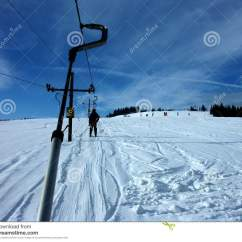 Ski Lift Chairs For Sale Folding Chair Racks Royalty Free Stock Photo Image 1913875