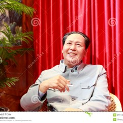 What Is A Chairman Knoll Dining Chairs Mao 39s Wax Figure Editorial Stock Image Of