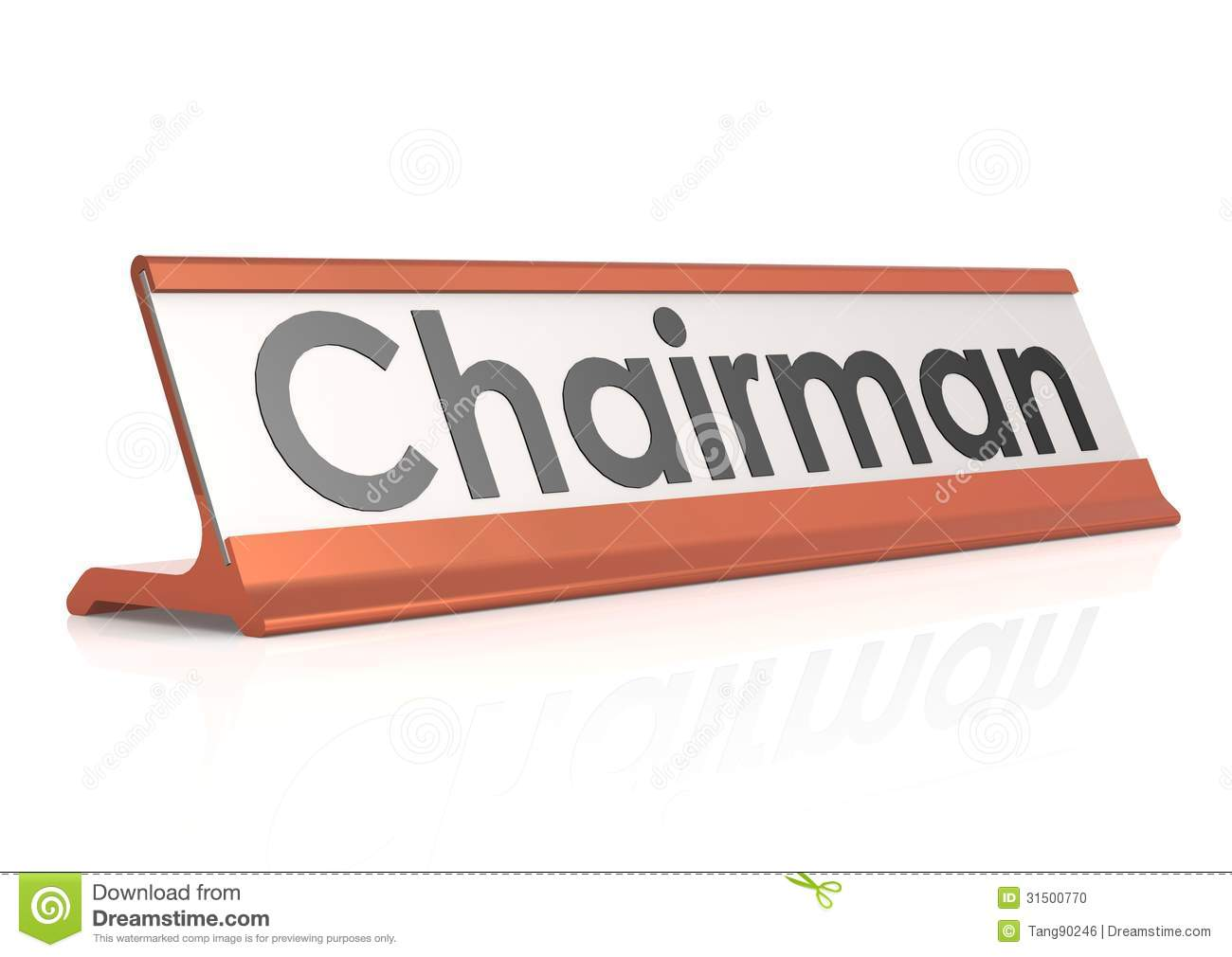 what is a chairman reading chairs for bedroom table tag stock illustration image of business