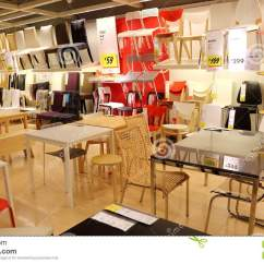 Chair And Stool Store Hanging Chairs For Bedroom Furniture Shop Editorial Photography Image Of