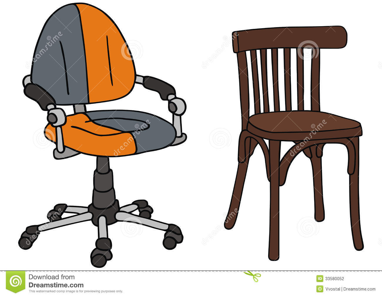 office chair dwg chairs max weight 150kg stock photography image 33580052