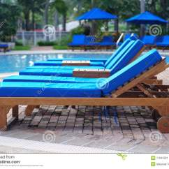 Poolside Lounge Chairs Black Velvet Chair Covers Chaise By The Pool Stock Image Of