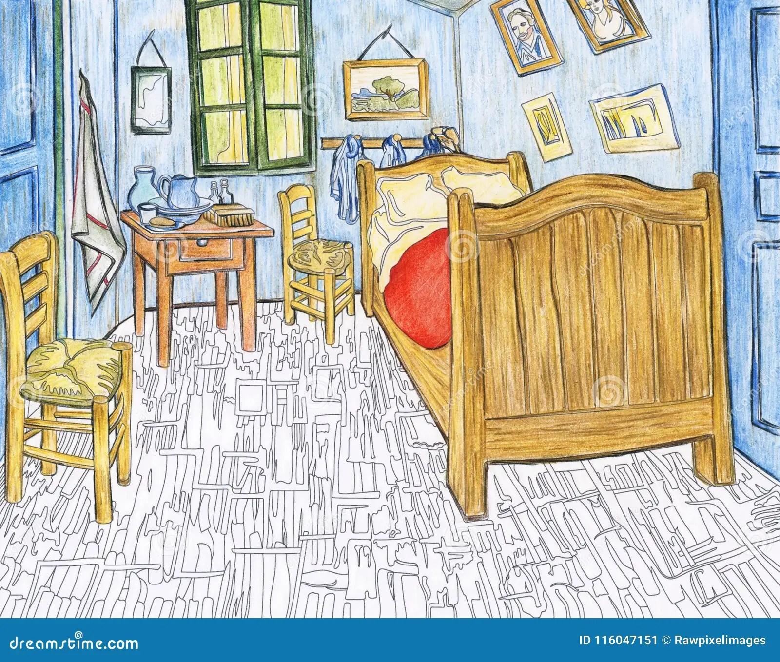 La Chambre Jaune A Arles Van Gogh | Chambre De Vincent à Arles 1889 .