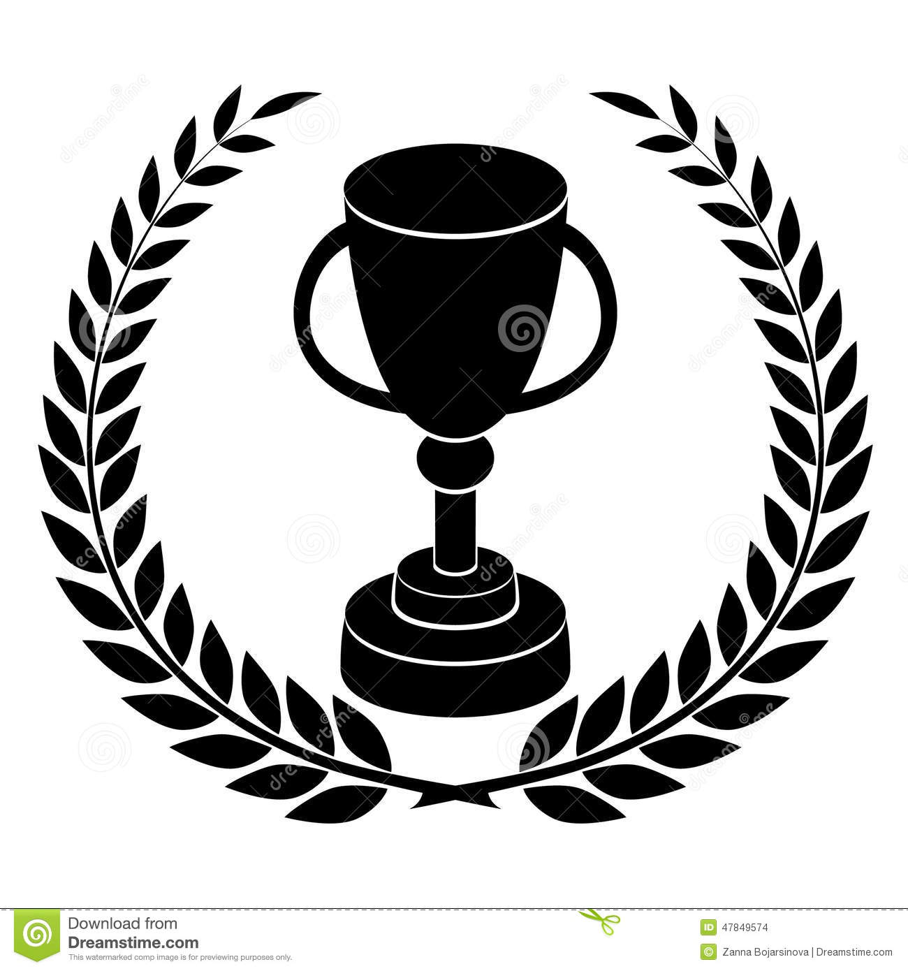 Champions Cup Stock Vector Illustration Of Background