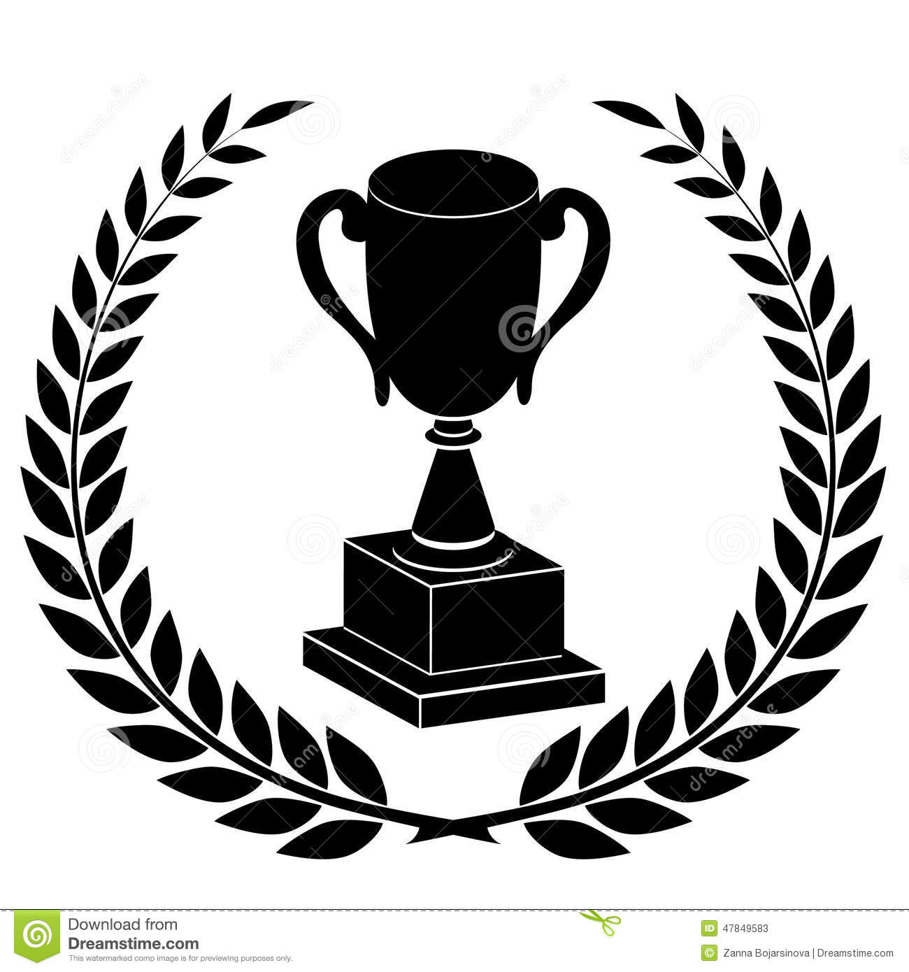Champions Cup Stock Vector Illustration Of Isolated