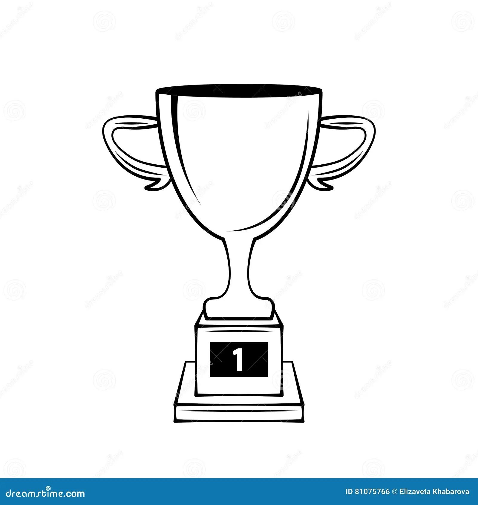 Champions Trophy Cup Vector Award Symbol Vector