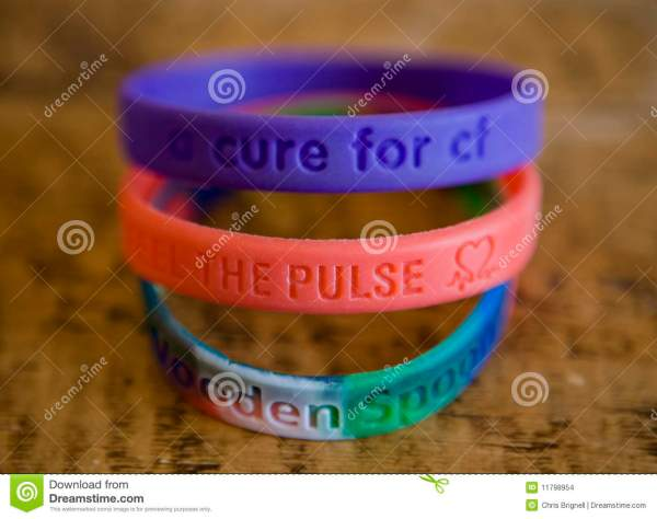 Charity Wristbands Stock Of Colourful