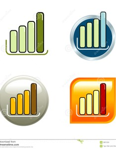 Download chart icons stock vector illustration of green touch also rh dreamstime