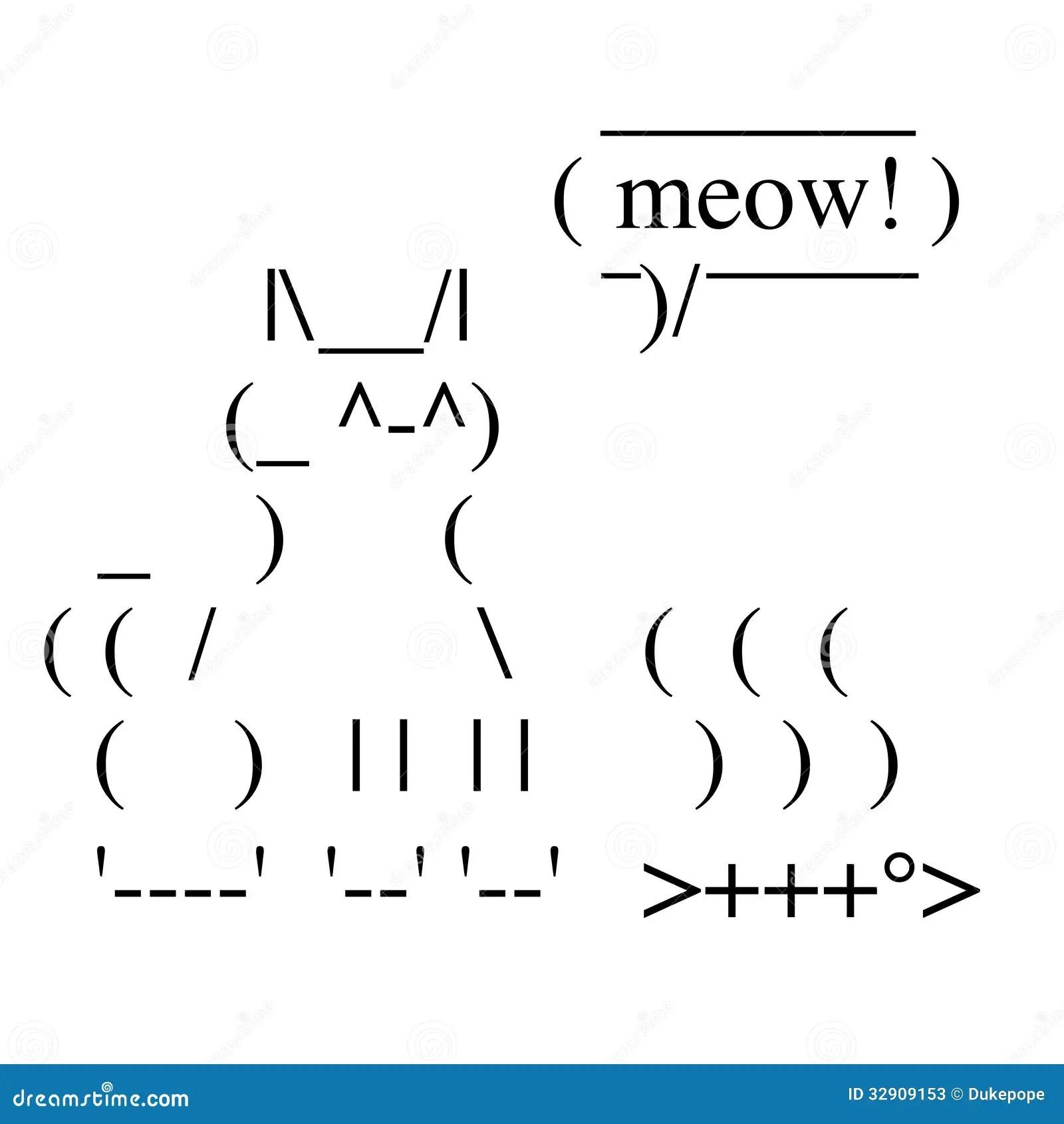 Chat heureux illustration de vecteur. Illustration du