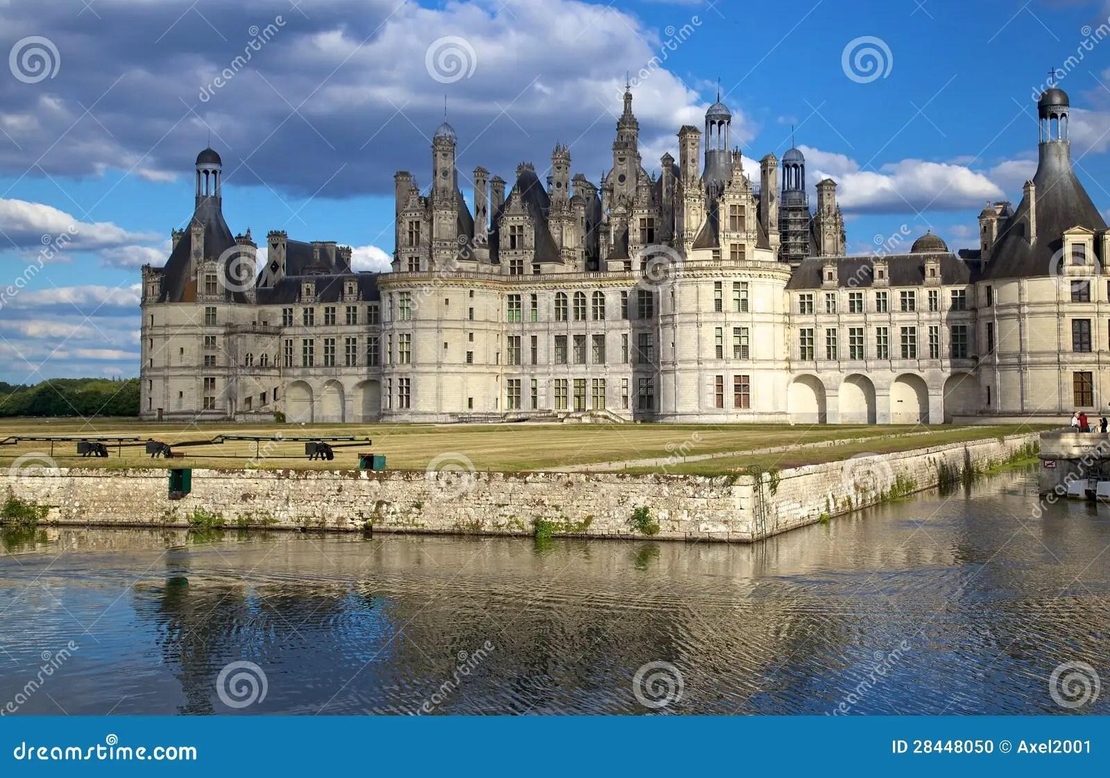 Chambord Castle Val De Loire France