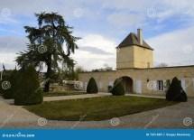 Chateau Magnol Bordeaux France Stock - Of