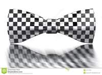 Checkered Bow-tie Stock Photography - Image: 13417642