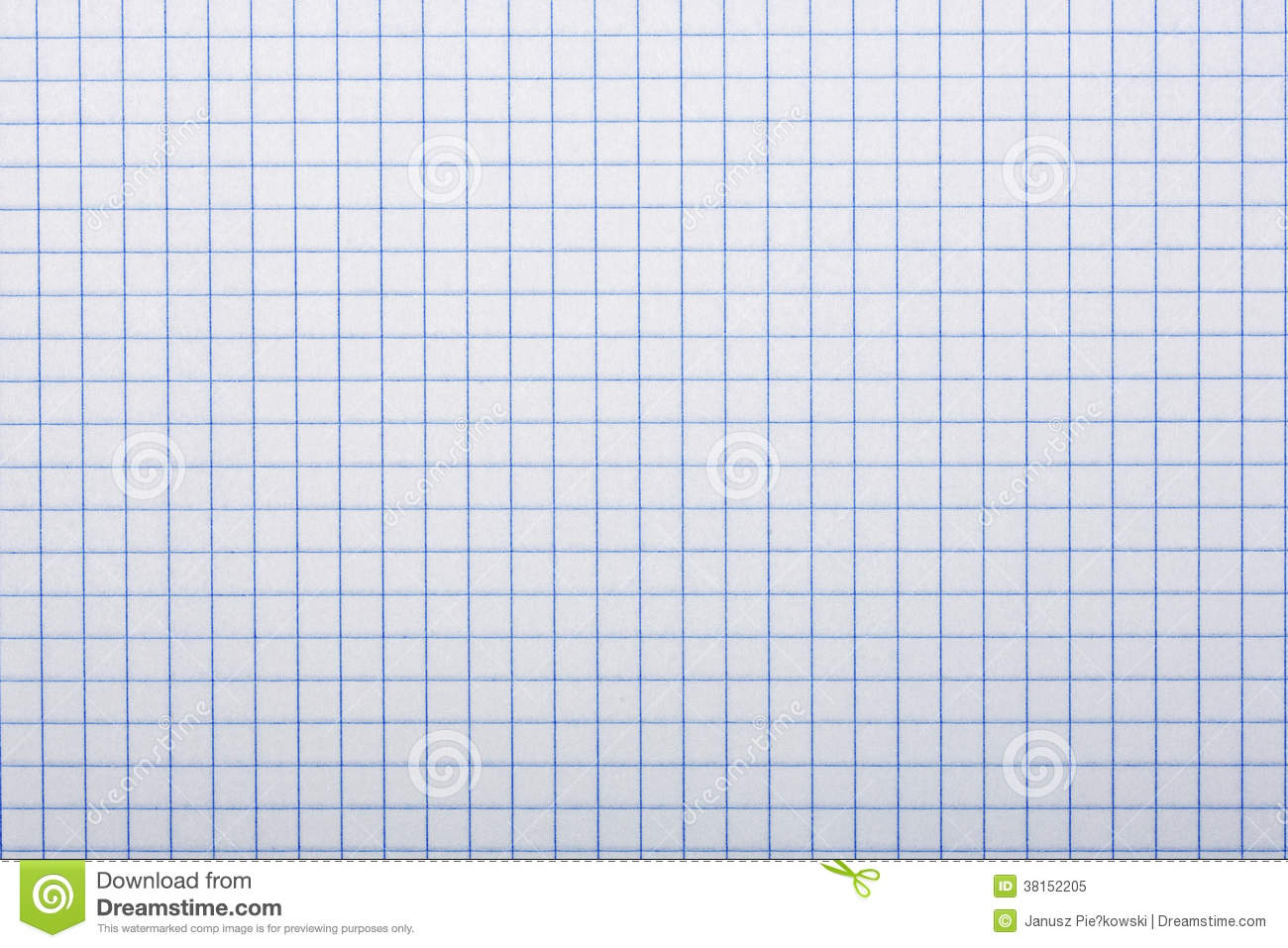 Checkered Paper A Background Royalty Free Stock Photo