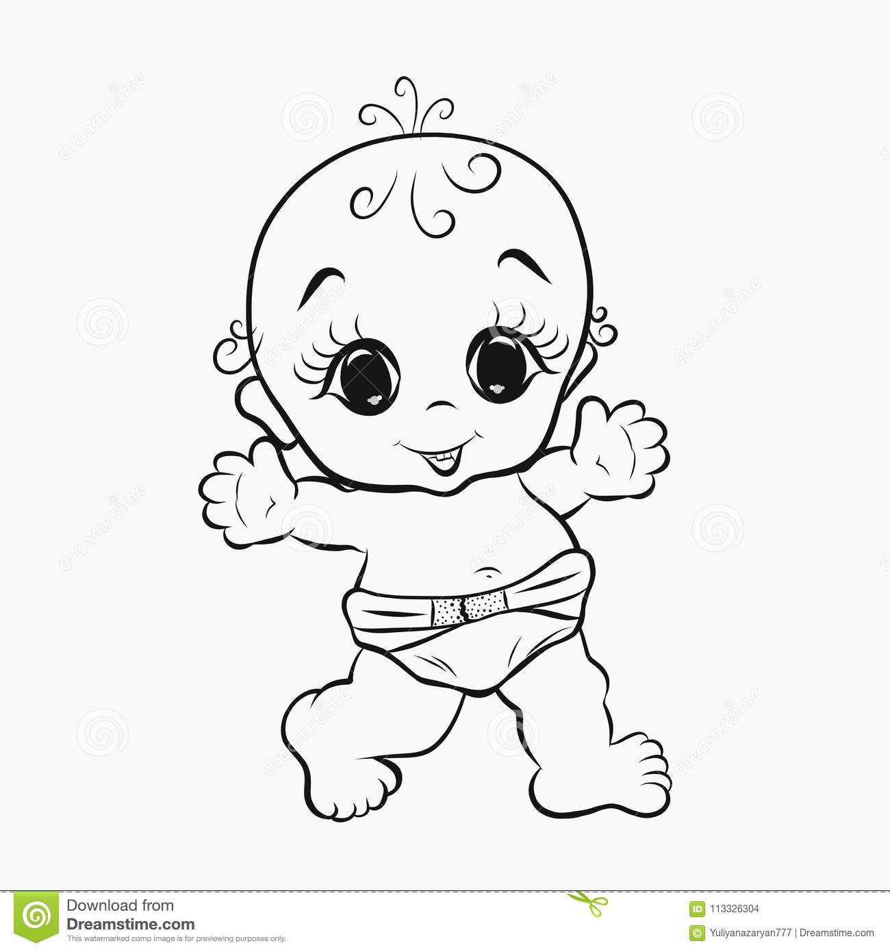 Baby Gumball Walking Coloring Page Wecoloringpage Sketch