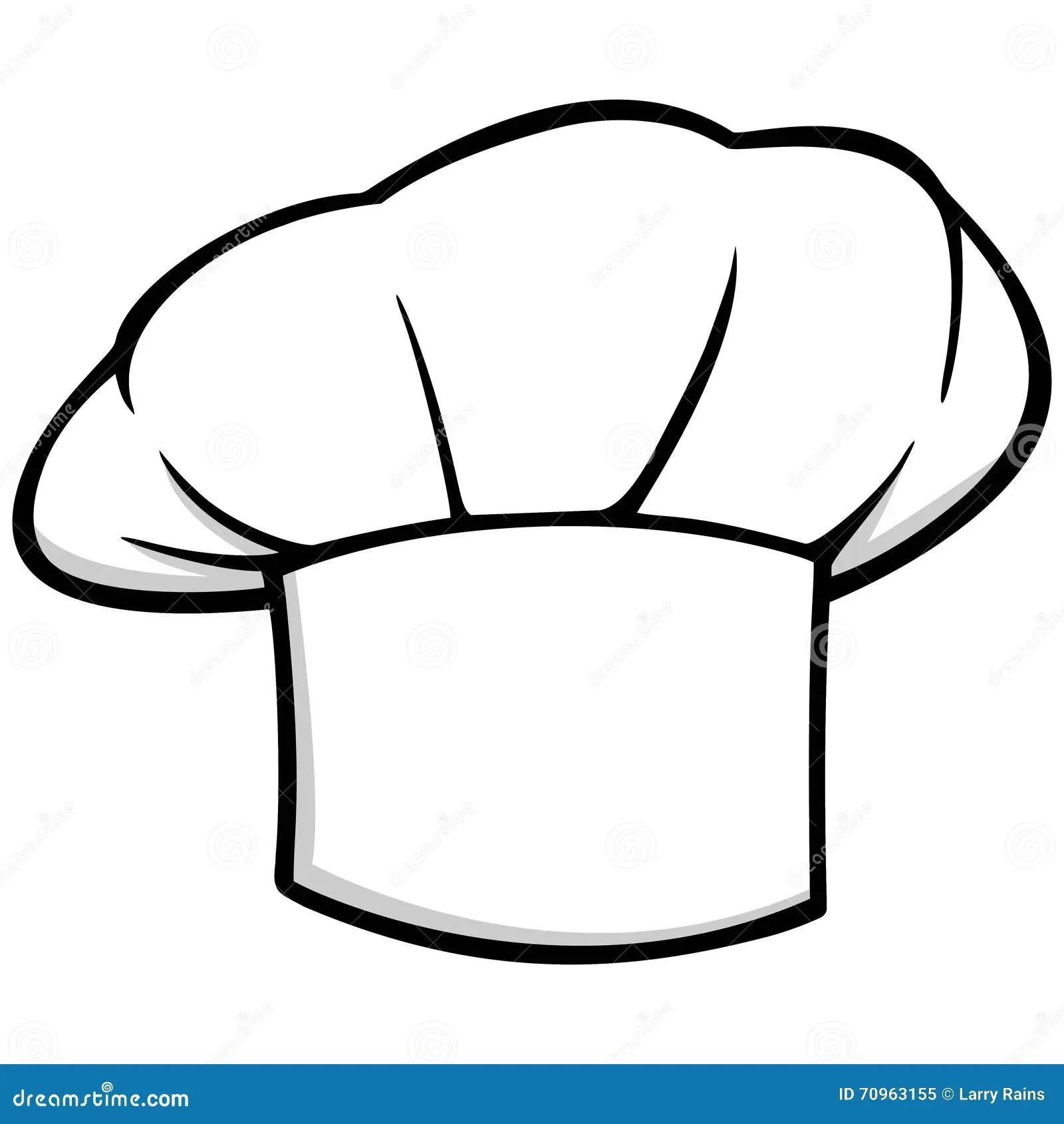 Chef Hat Icon Stock Vector Illustration Of Cartoon Chef