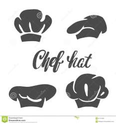 chef hat silhouette cook isolated vector illustration preview shutterstock