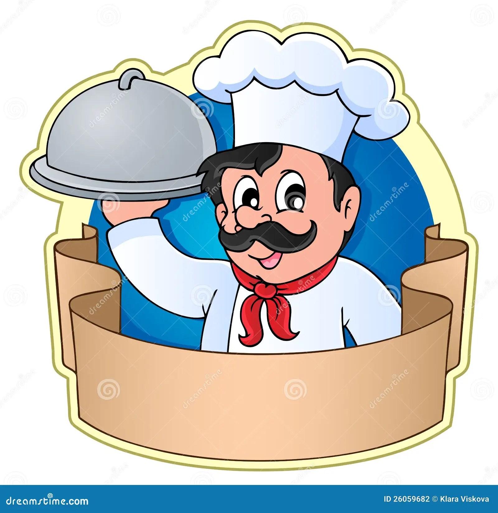 Chef theme image 5 stock vector Illustration of cartoon