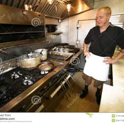 Kitchen Pots And Pans Preschool Set Chef At Work In Small Stock Photo - Image: 21701186