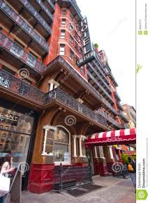 Chelsea Hotel Nyc Editorial Of Seventh Sign