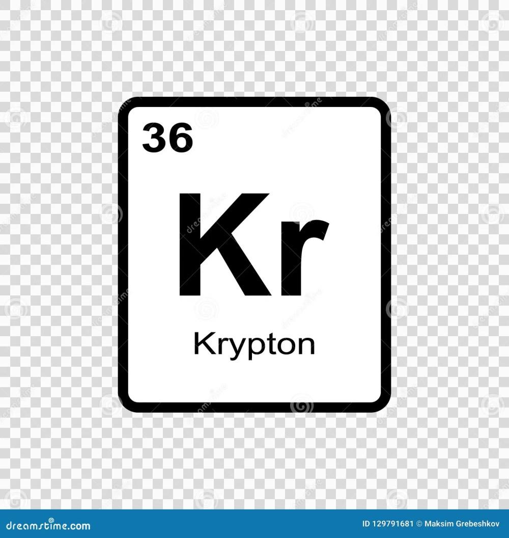 medium resolution of chemical element krypton
