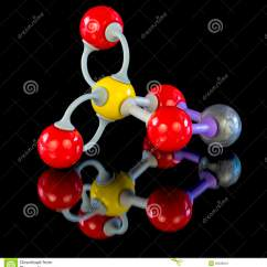 Copper Atom Diagram Yamaha R6 Wiring 2001 Chemical Model For Sulfate Stock Photo Image