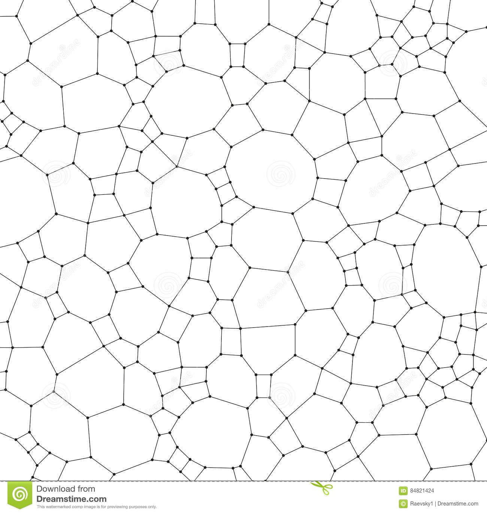 Chemistry Pattern, Molecular Texture, Polygonal Molecule