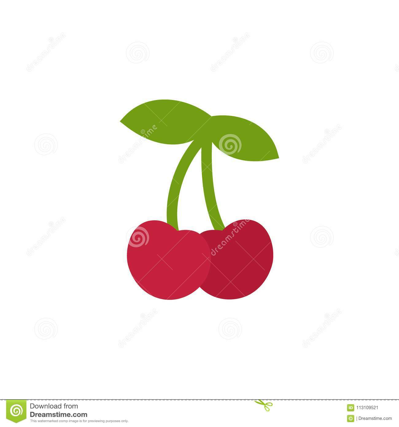 hight resolution of cherry icon simple design cherries icon clip art