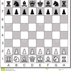 Chess Board Setup Diagram Motherboard Circuit Royalty Free Stock Images Image 7633619