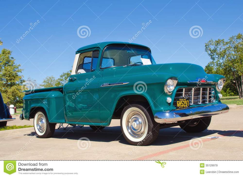 medium resolution of 1956 chevrolet apache 3100 pickup truck