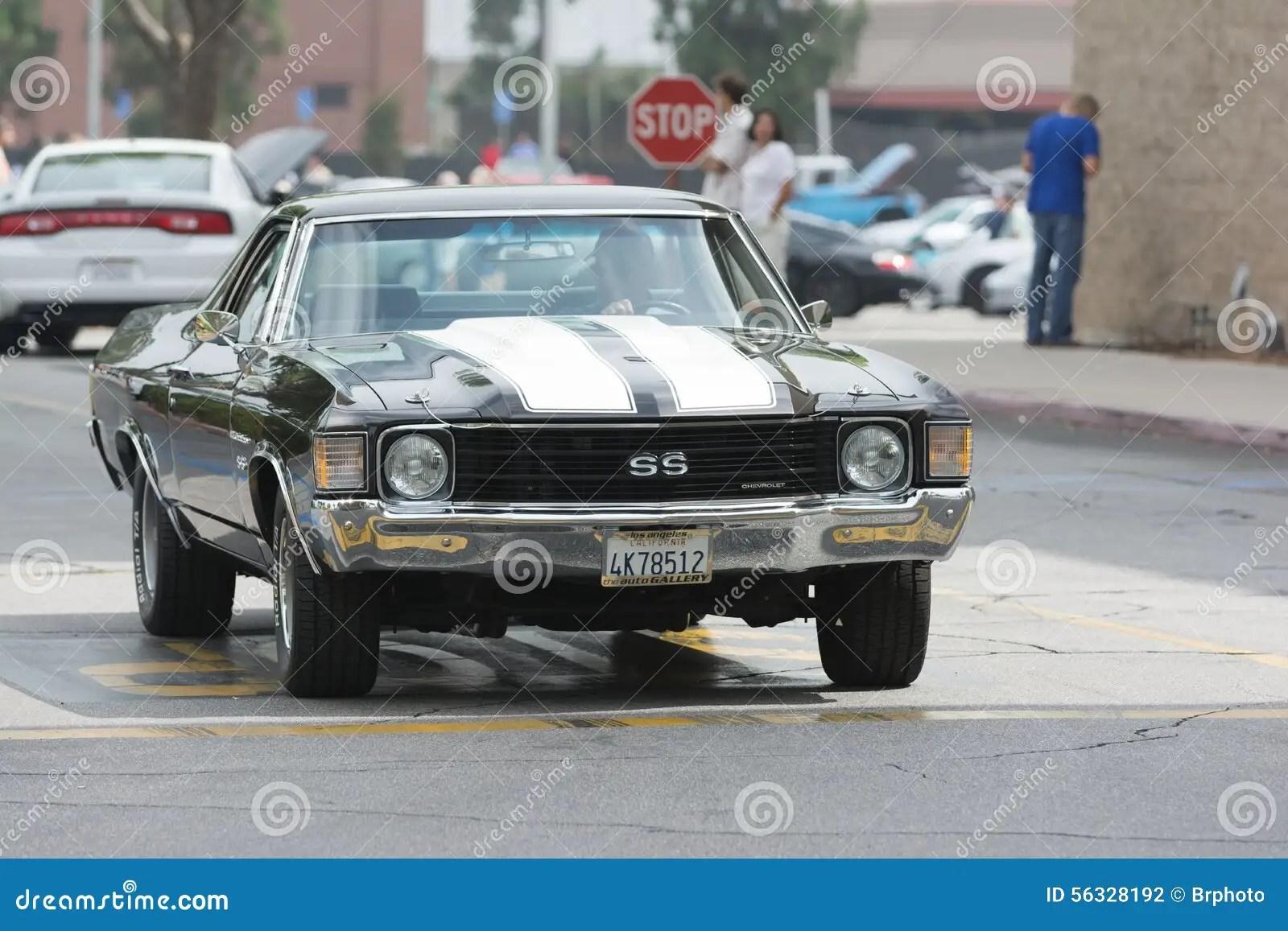 hight resolution of chevrolet el camino ss car on display