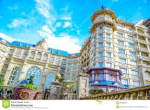 Chiba Japan View Of Tokyo Disneyland Hotel Located In