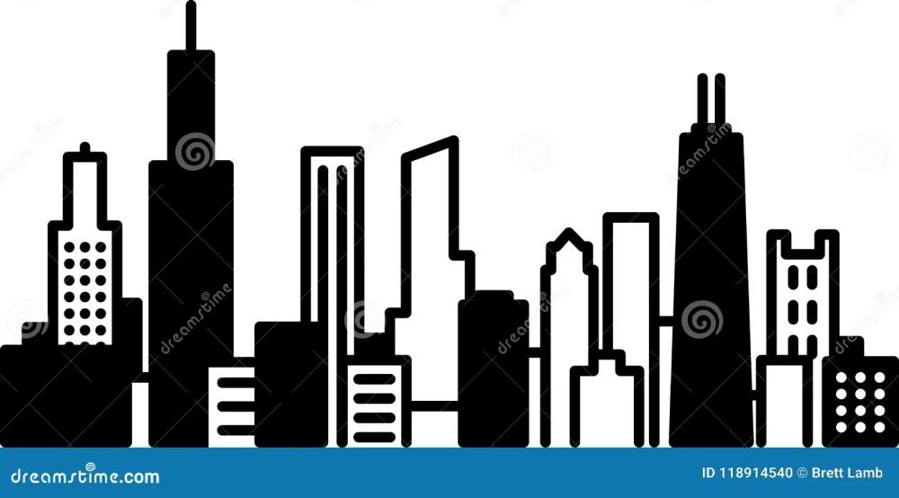 medium resolution of chicago skyline city icon