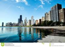 Chicago Skyline Stock Of Midwest