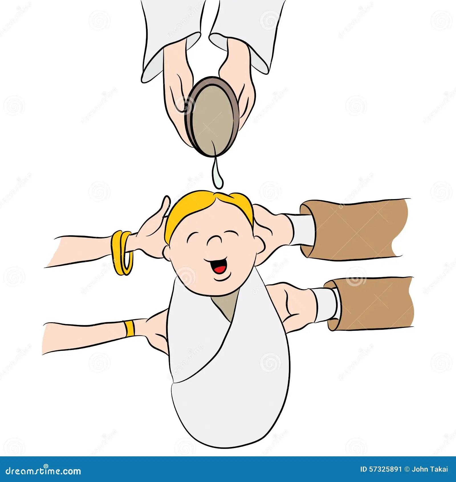 Baptism Invitations Vectors