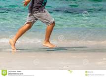 Child Legs Running Royalty-free Stock