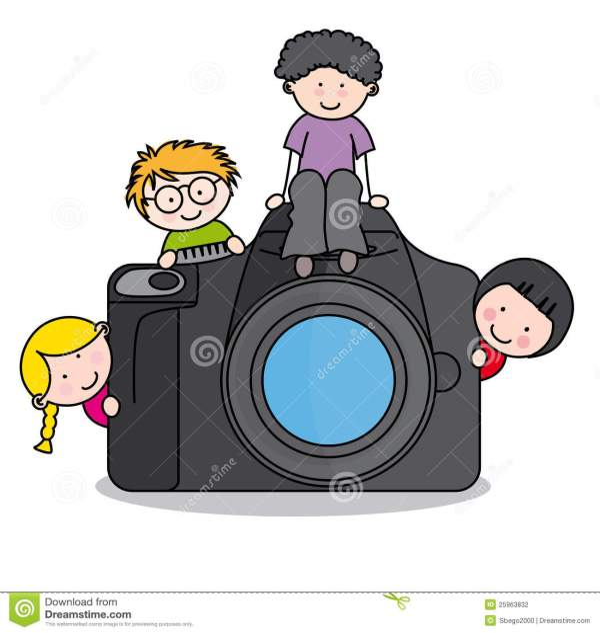 Photographer Camera Clip Art