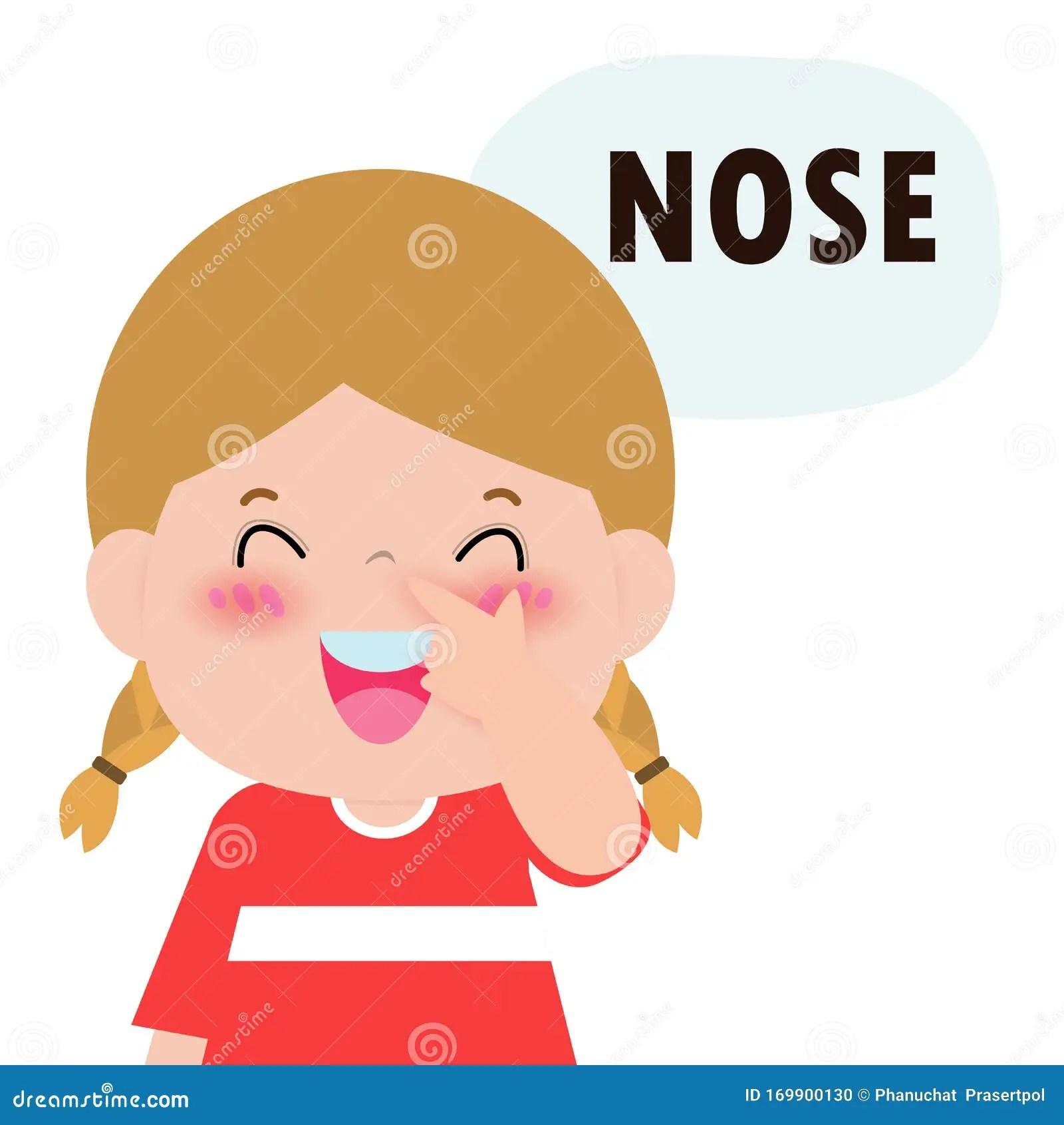 Kid Pointing Nose Stock Illustrations 18 Kid Pointing Nose Stock Illustrations Vectors Clipart Dreamstime