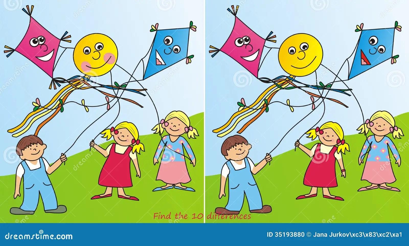 Children And Kites