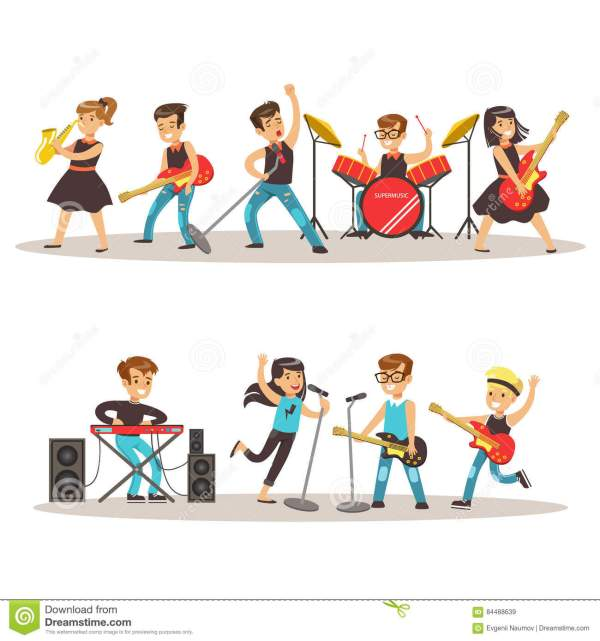 Kids Talent Show Clip Art Images Free