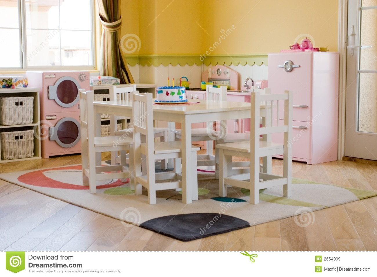 Childrens Playroom Stock Image Image Of Room House