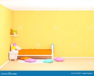 Cute Bedroom Bed Cartoon