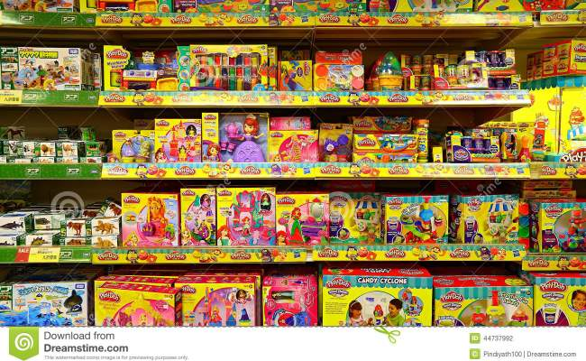 Childrens Toy Store Editorial Photography Image 44737992