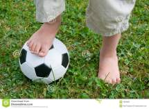 Football Boy Feet