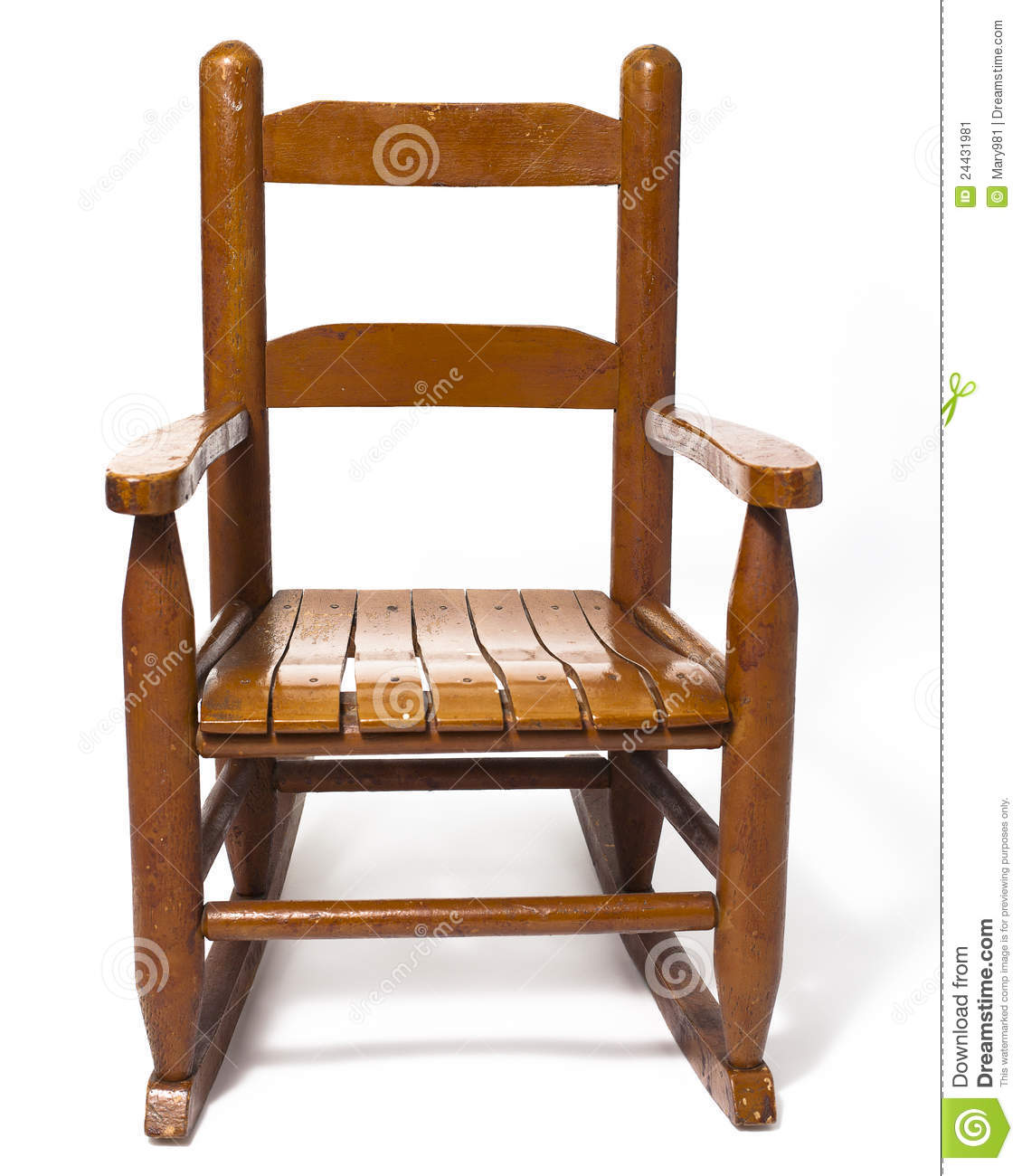 childs wooden rocking chair yoga workout white stock image - image: 24431981